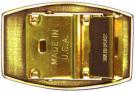 Web belt fastener
