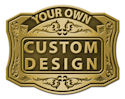Your Own Custom Designed Buckle
