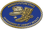 Realty western rodeo belt buckle with color fill and western hat and cowboy boot with spurs