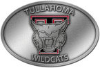 High school football sports team belt buckle