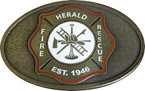 Fire and rescue maltese cross belt buckle