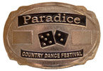 Country Festival belt buckle