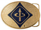 Arrow belt buckle