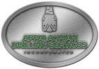 Corporate drilling service color accent belt buckle