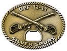 Operation Enduring Freedom bottle opener belt buckle