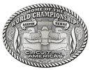 Car racing western belt buckle