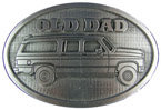 Vintage truck belt buckle