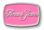 Clothing line belt buckle with pink colorfill