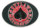 Spade design Motorcycle Club belt buckle