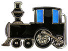 Kids Train Engine belt buckle