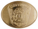 Firefighter Maltese Cross Crest belt buckle