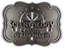 Scientology belt buckle