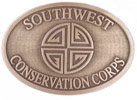 Conservation Corps belt buckle