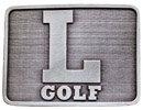 Golf Logo belt buckle