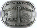 Journeyman Lineman Electrical Trade belt buckle