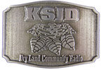 Radio belt buckle