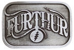 Music band belt buckle