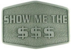 Personal Novelty Money belt buckle
