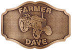 Personal Farming belt buckle