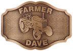 Personal Farming belt buckle
