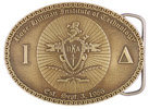 Technology Institute belt buckle
