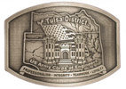 Army belt buckle