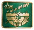 Triathlon color fill belt buckle
