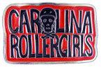 Girls Roller derby belt buckle