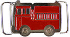 Playful Kids Fire Truck belt buckle