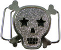 Kids skull belt buckle